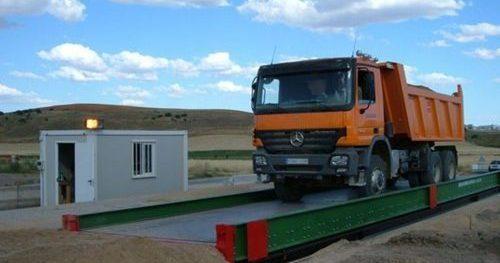 Báscula Portátil Camión 04