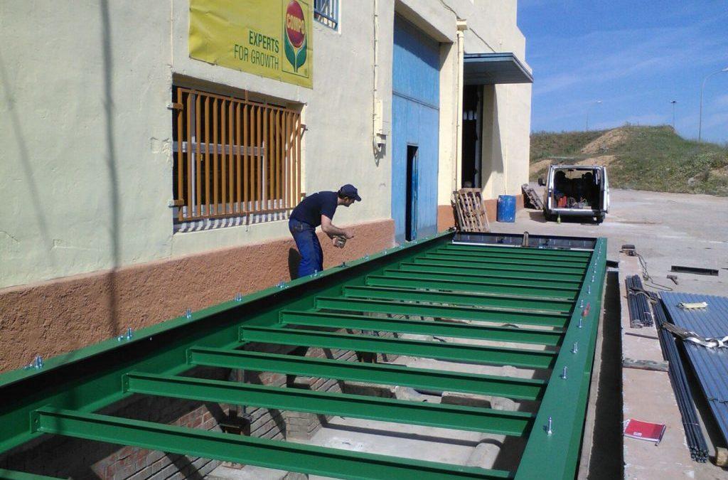 Nueva báscula para Hnos. Dueñas en Castrojeriz, Burgos